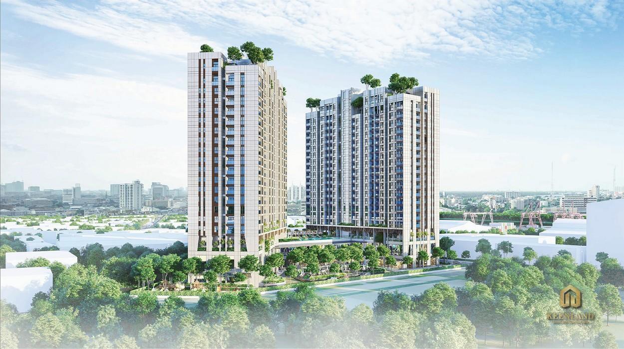 Phối cảnh dự án căn hộ Asiana Riverside