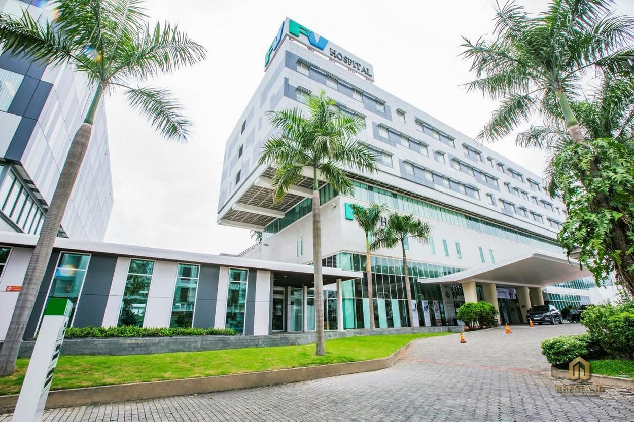 Tiện ích ngoại khu dự án Asiana Riverside - Bệnh viện FV