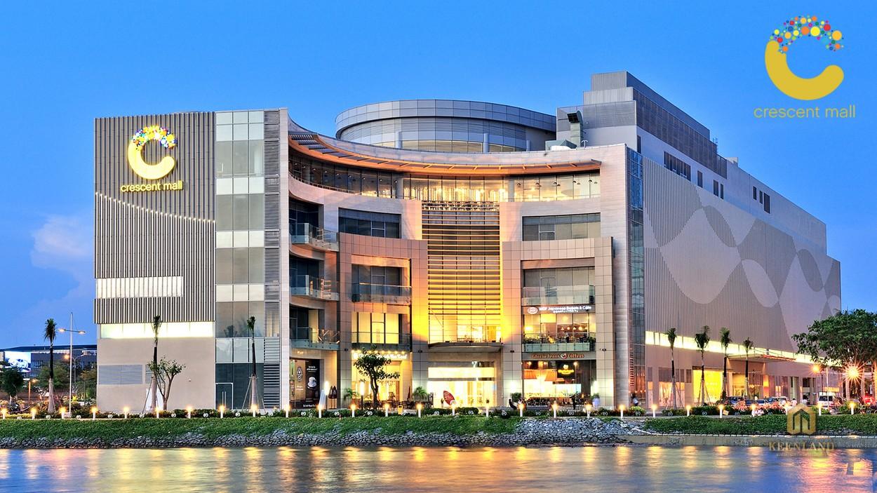 Tiện ích ngoại khu dự án Asiana Riverside - Crescent Mall