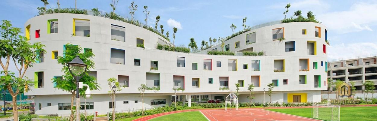 Tiện ích ngoại khu Thảo Điền Green Towers - Trường mầm non quốc tế