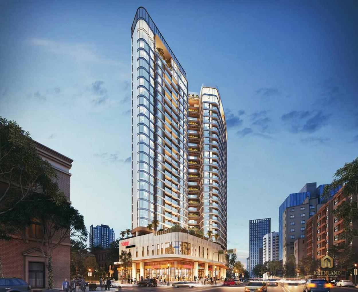 Phối cảnh dự án căn hộ Thảo Điền Green Towers Quận 2