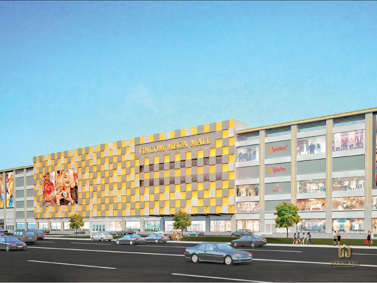 Tiện ích ngoại khu Thảo Điền Green Towers - Vincom Mega Mall