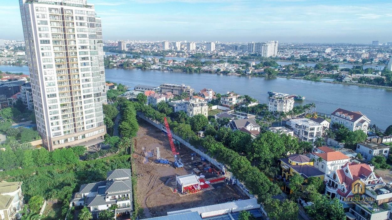 Tiến độ xây dựng dự án căn hộ Thảo Điền Green Towers Quận 2