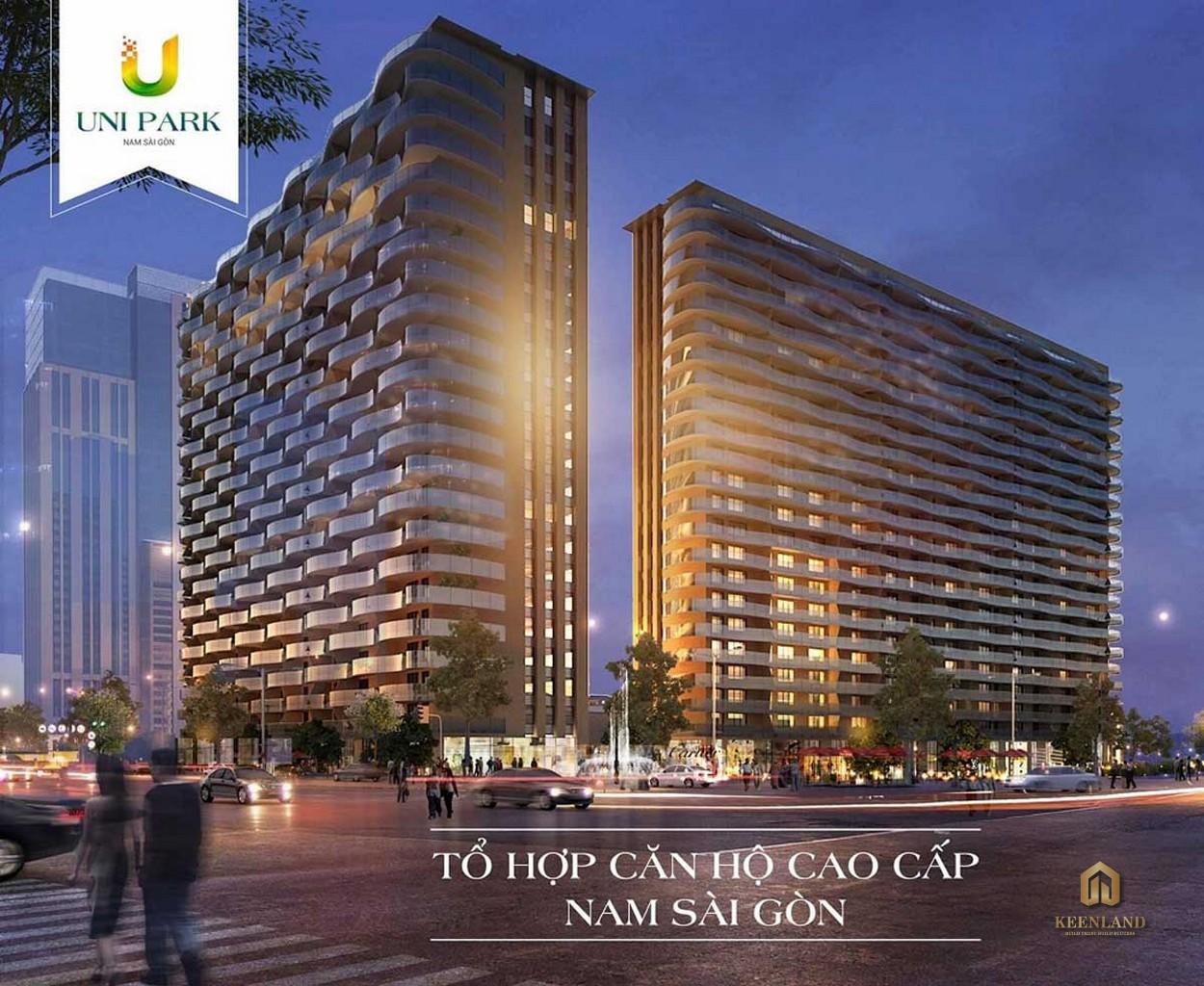 Phối cảnh dự án căn hộ Uni Park Nam Sài Gòn
