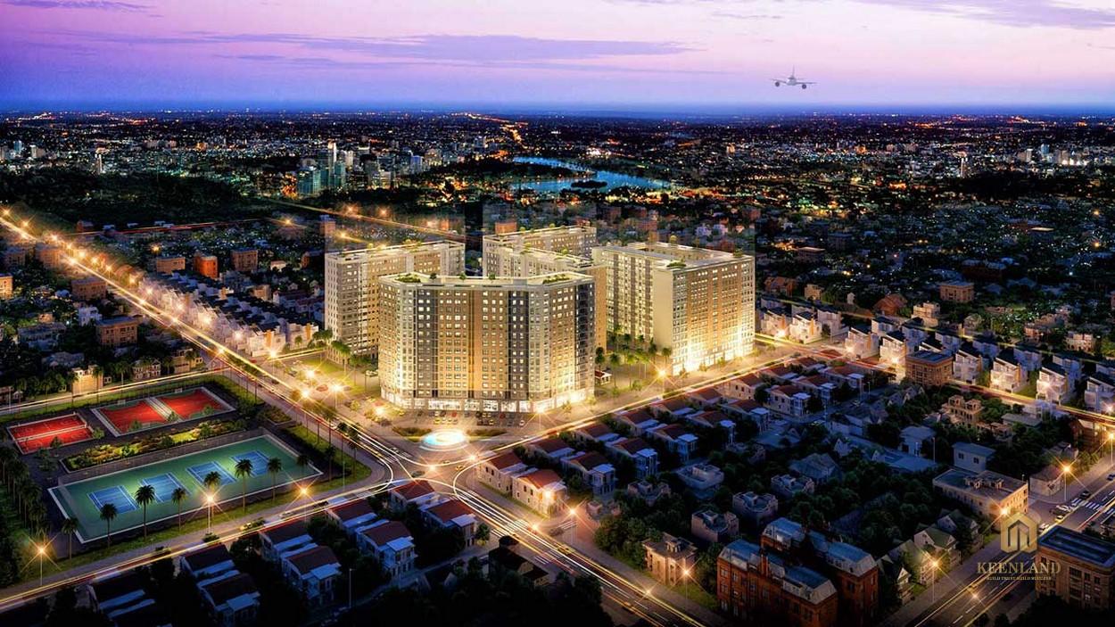 Dự án căn hộ Green Town Bình Tân - Chủ đầu tư dự Uni Park