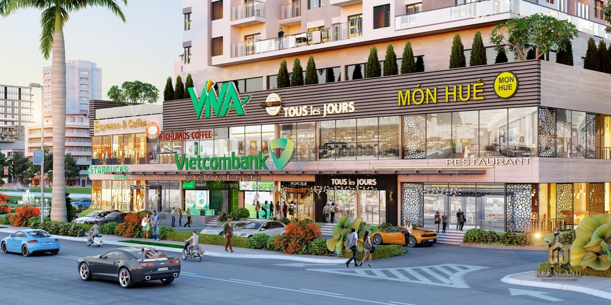 Tiện ích nội khu dự án Uni Park Nam Sài Gòn