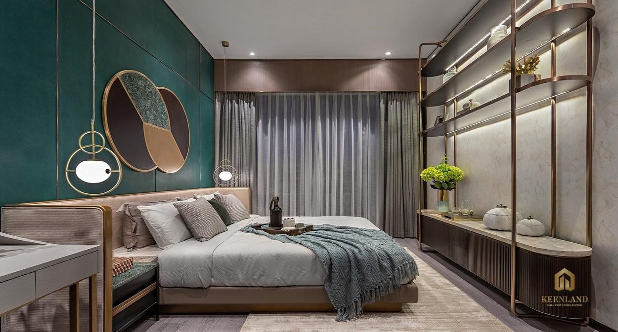 Nhà mẫu dự án Goldora Plaza Nhà Bè - Phòng ngủ