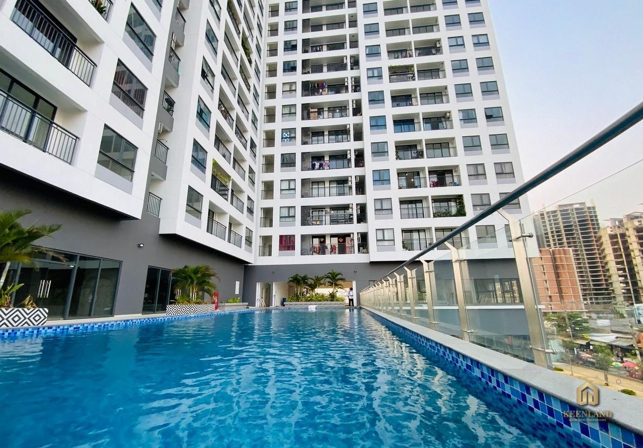 Tiện ích hồ bơi tại Tầng 3 Goldora Plaza Nhà Bè