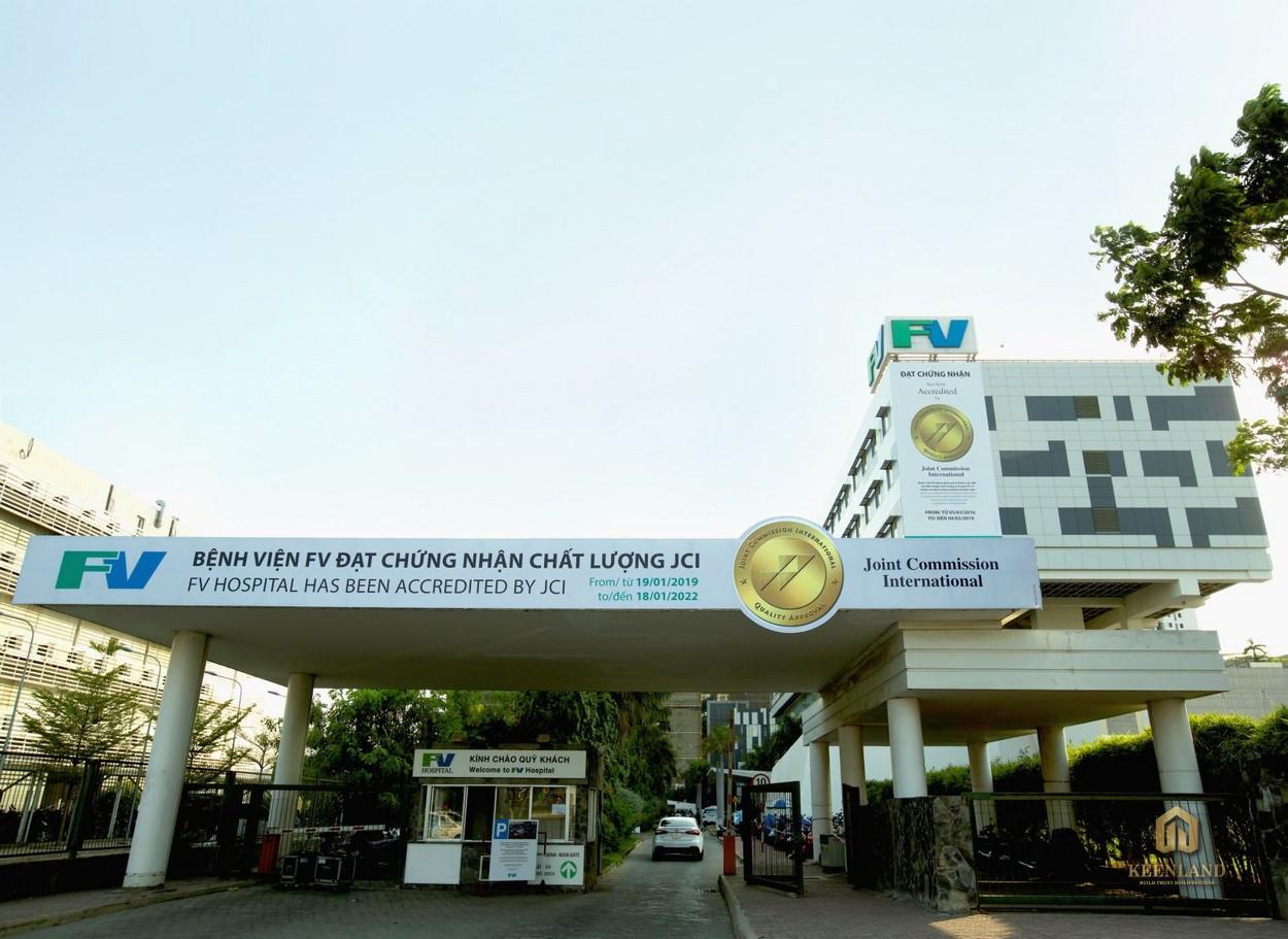 Tiện ích ngoại khu dự án Goldora Plaza Nhà Bè - Bệnh viện FV