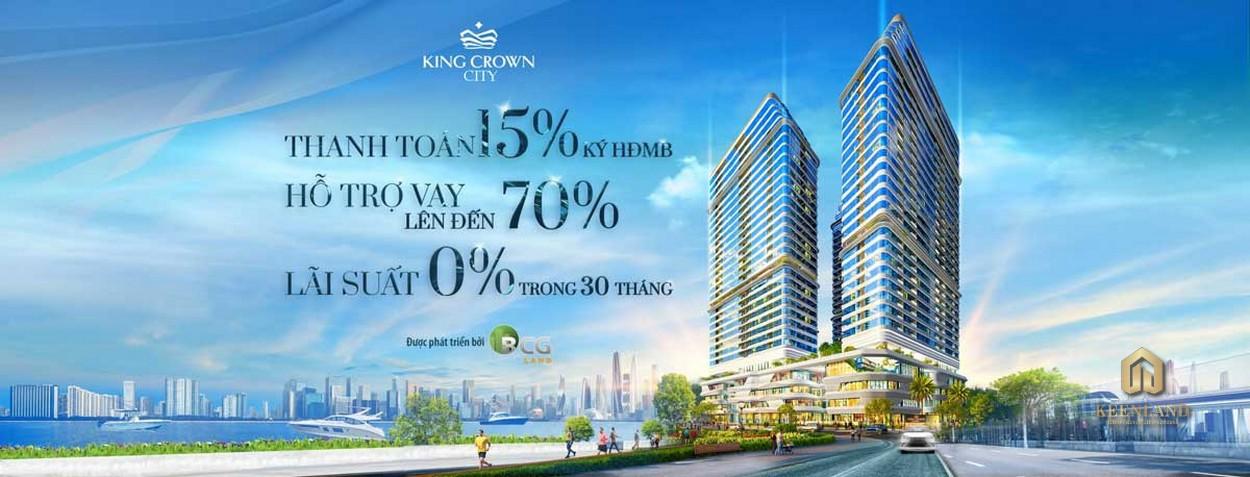 Lý do nên mua dự án căn hộ King Crown CityThủ Đức