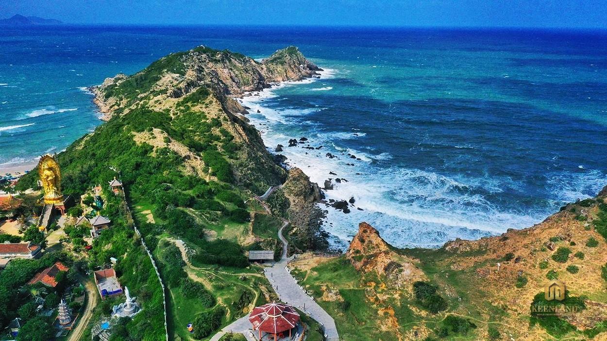 Biển Trung Lương liền kề dự án Takashi Ocean Suite