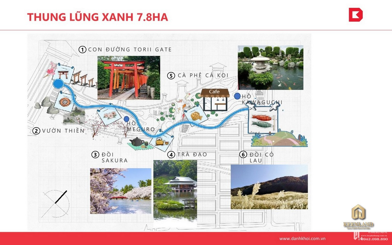Tiện ích nội khu dự án Takashi Ocean Suite phong cách Nhật Bản