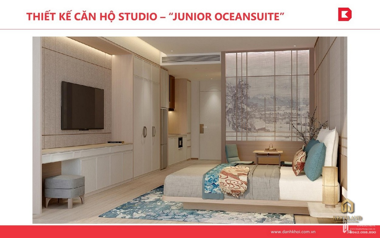 Thiết kế căn hộ Studio Takashi Ocean Suite