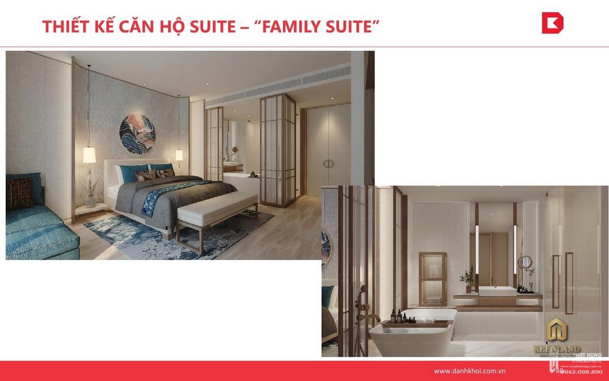 Thiết kế căn hộ Suite Takashi Ocean Suite
