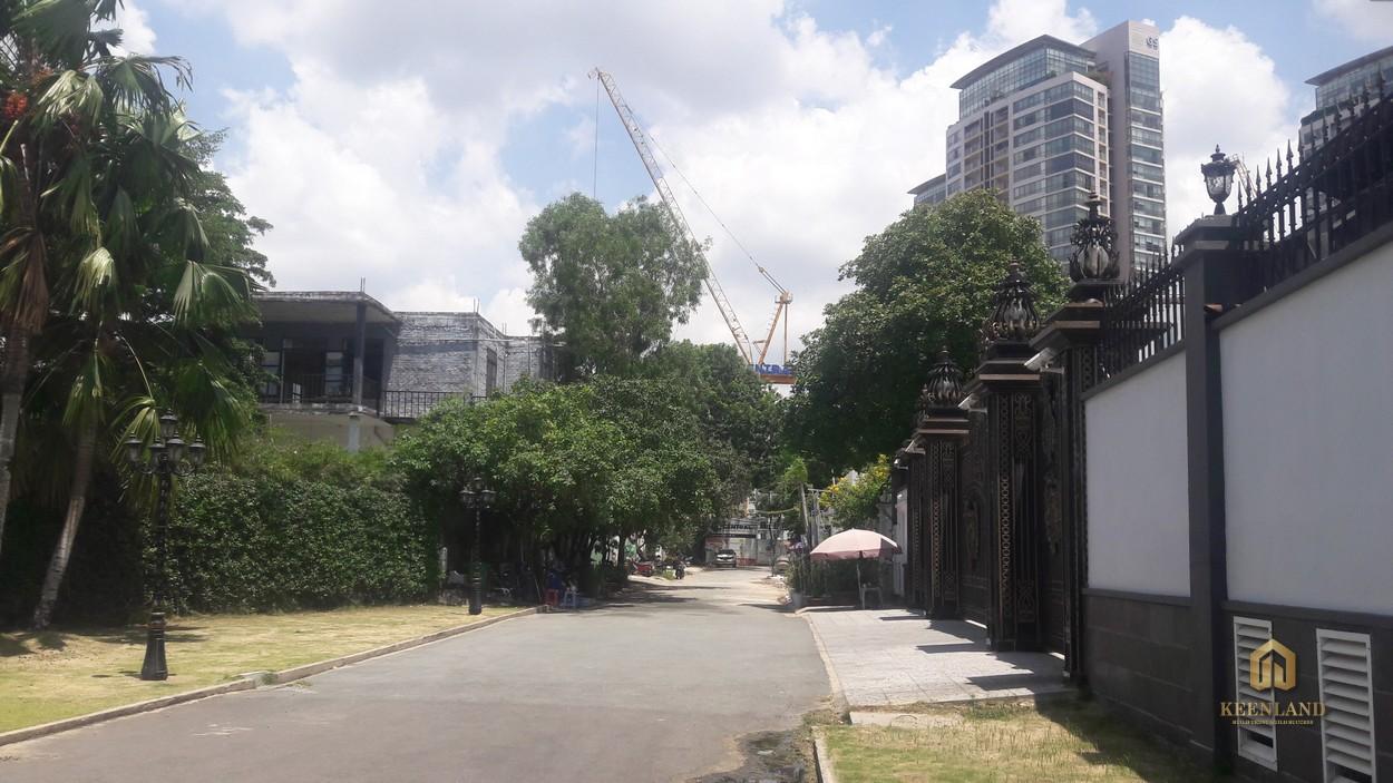 Hình ảnh thực tế dự án Thảo Điền Green cập nhật 07/2021