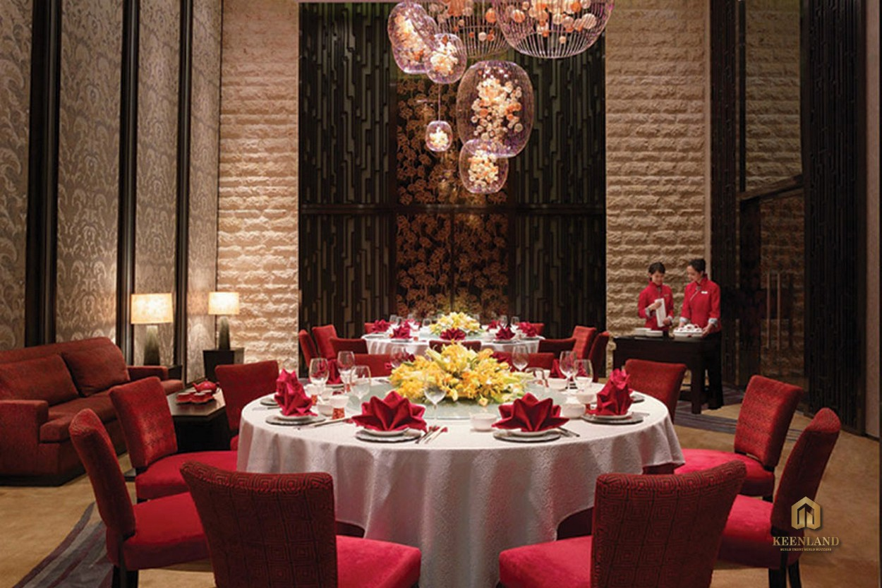 Nhà hàng - Tiện ích nội khu dự án Him Lam Chợ Lớn Quận 6