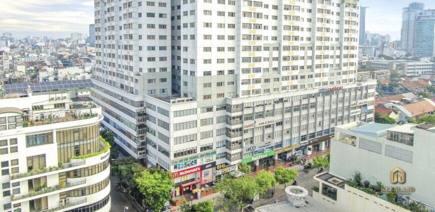 Phối cảnh dự án chung cư H3 Hoàng Diệu