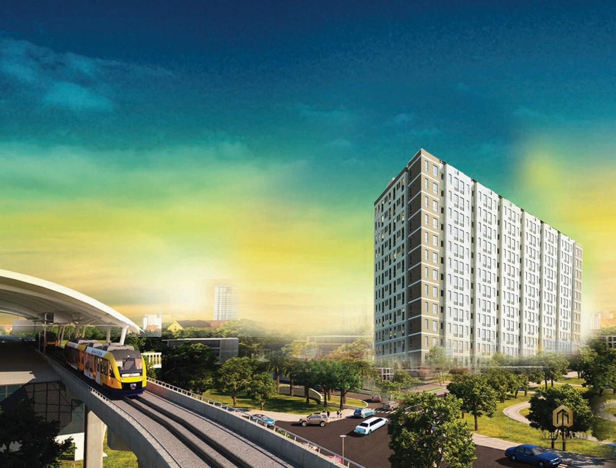 Phối cảnh dự án Saigon Metro Park