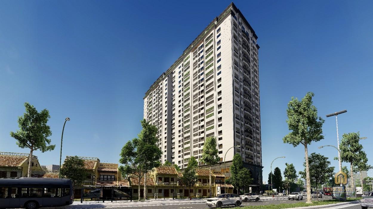 Phối cảnh dự án Tam Đức Plaza