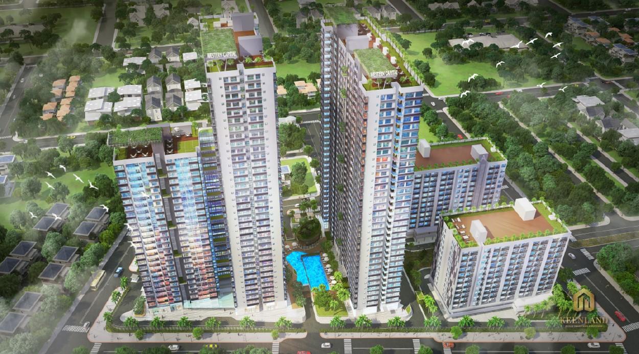 Phối cảnh dự án căn hộ The Western Capital