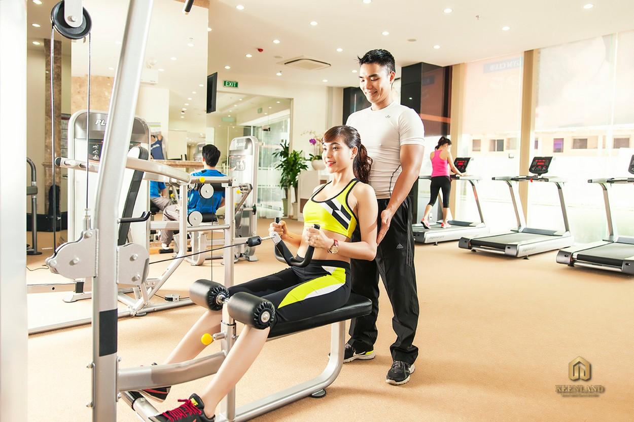Phòng gym - Tiện ích nội khu dự án Him Lam Chợ Lớn Quận 6