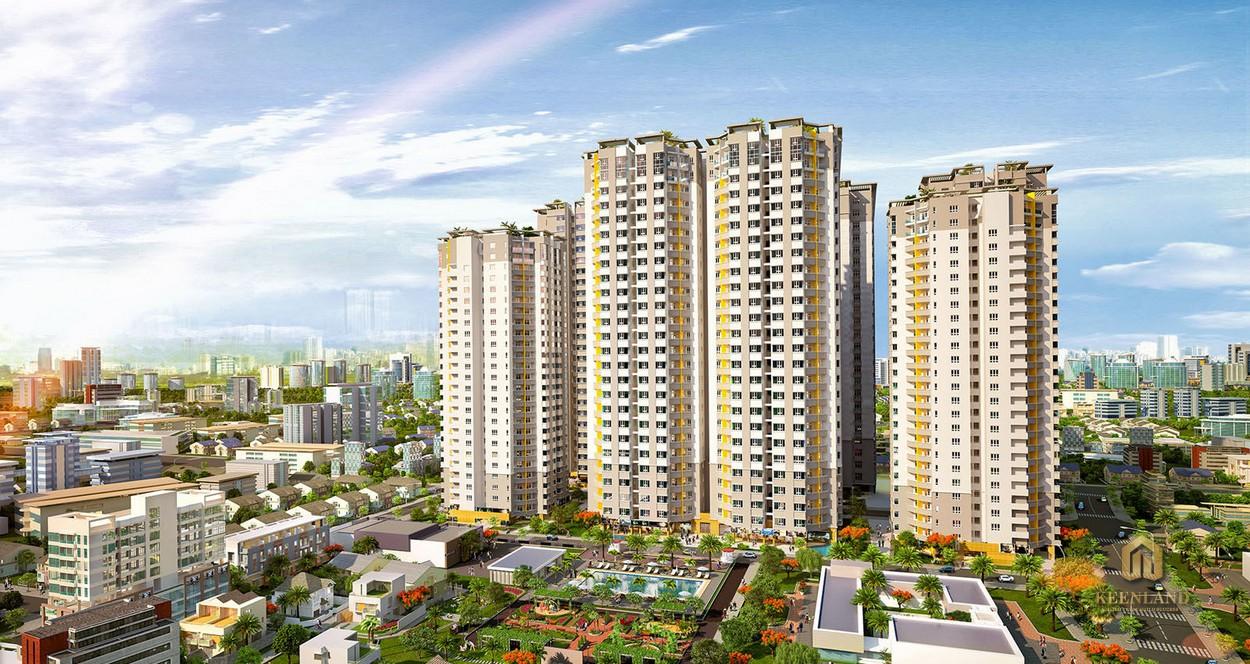 Phối cảnh dự án Him Lam Green Park