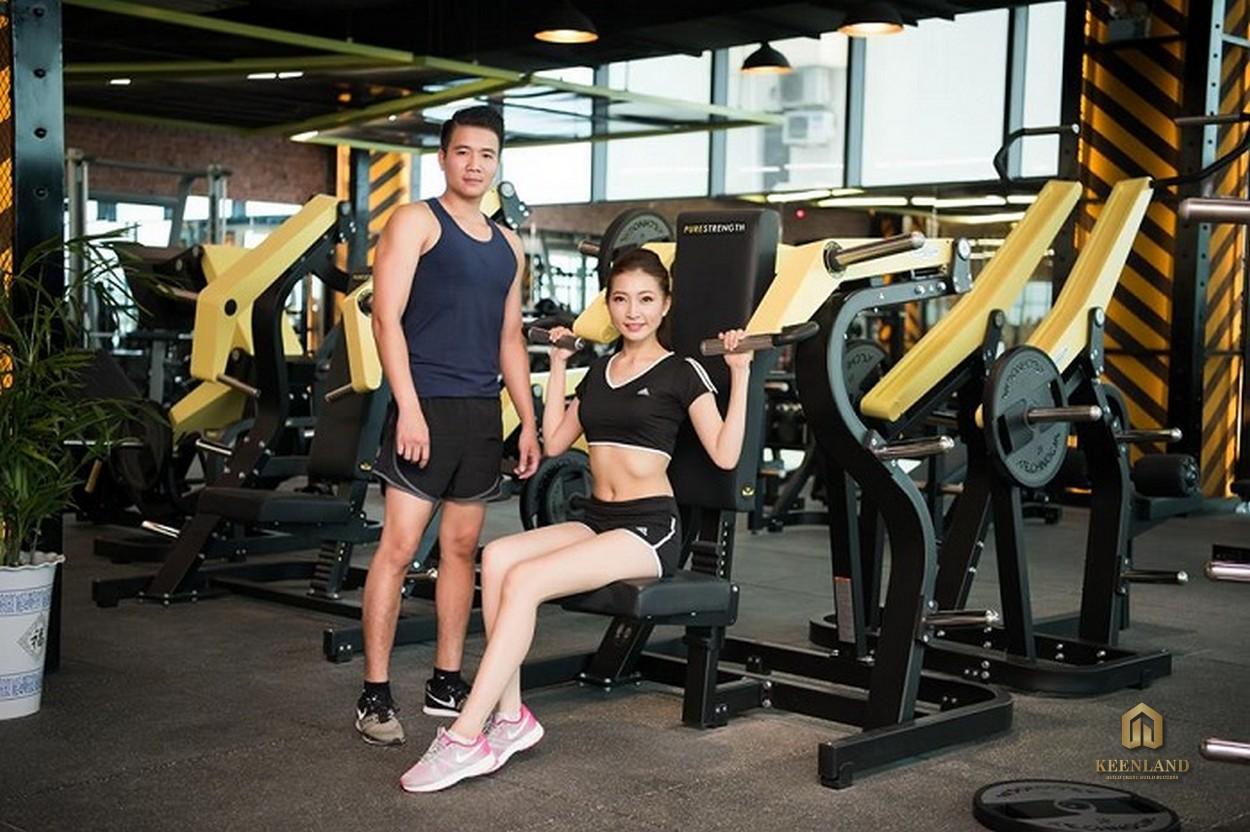 Phòng gym - Tiện ích nội khu dự án Viva Riverside Quận 6