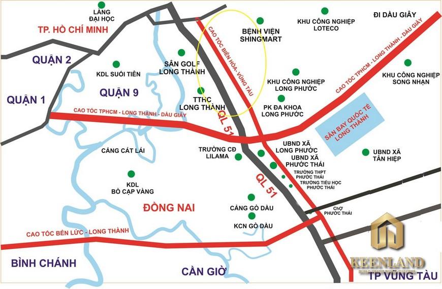Quy hoạch cao tốc Biên Hòa Vũng Tàu