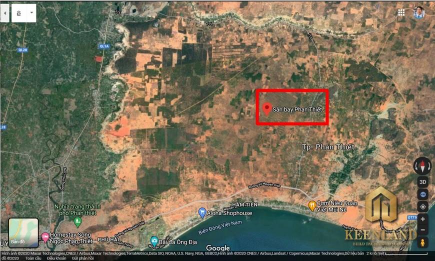 Quy hoạch sân bay Phan Thiết