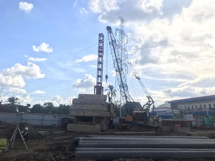 Tiến độ xây dựng dự án The Rivana T7/2021