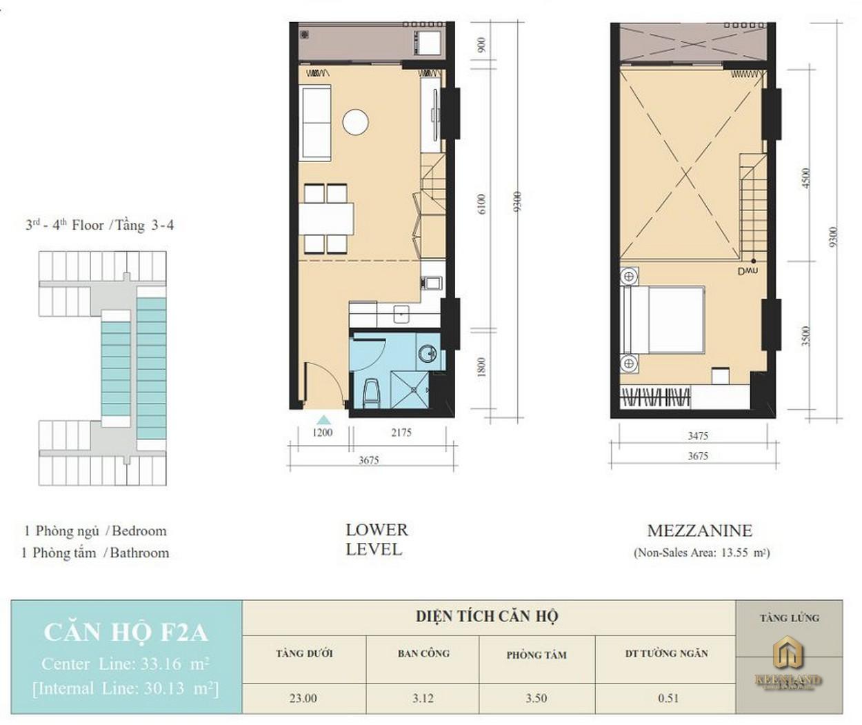 Thiết kế căn hộ F2A