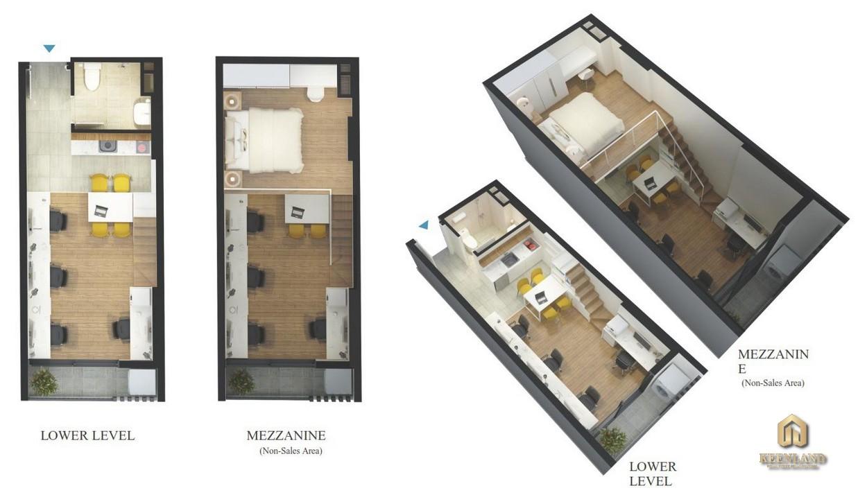 Thiết kế căn hộ Sky 9