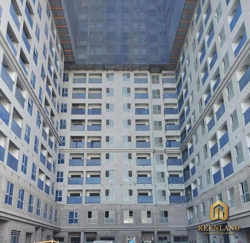 Tiến độ xây dựng Bcons Green View tháng 06