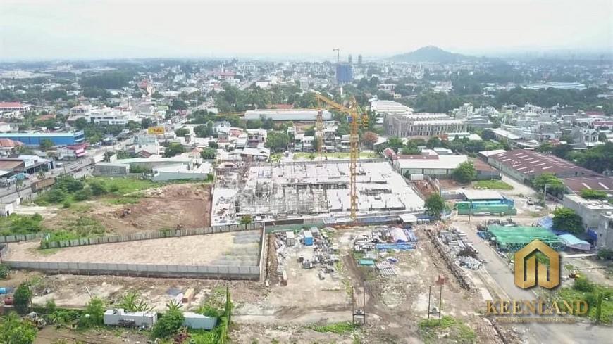 Tiến độ xây dựng dự án Bcons Plaza tháng 6 năm 2021