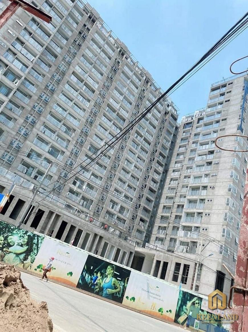 Tiến độ xây dựng dự án D'Lusso Quận 2 tháng 6