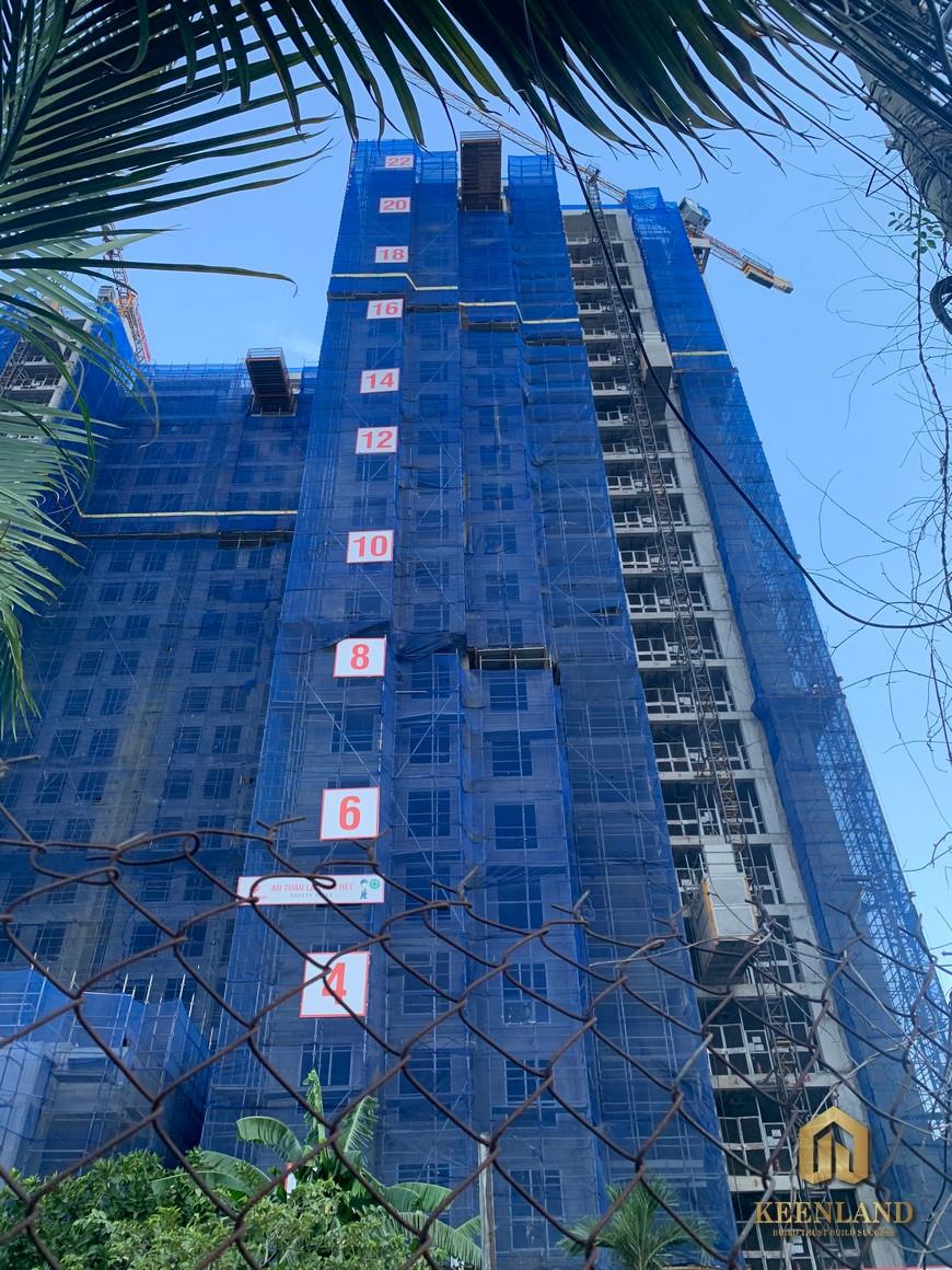 Tiến độ xây dựng dự án Precia Quận 2 tháng 6