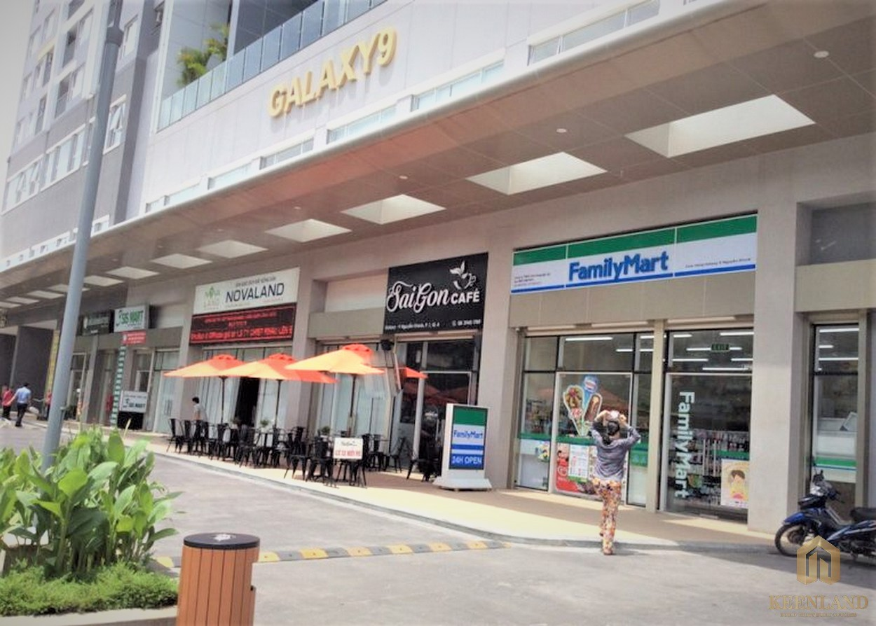 Hệ thống cửa hàng tiện lợi tại Galaxy 9 quận 4