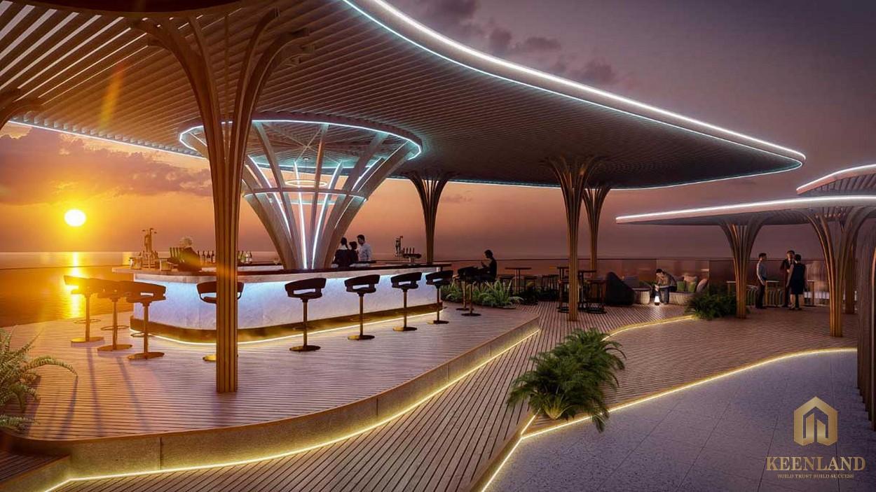 Charm Resort Long Hải về đêm