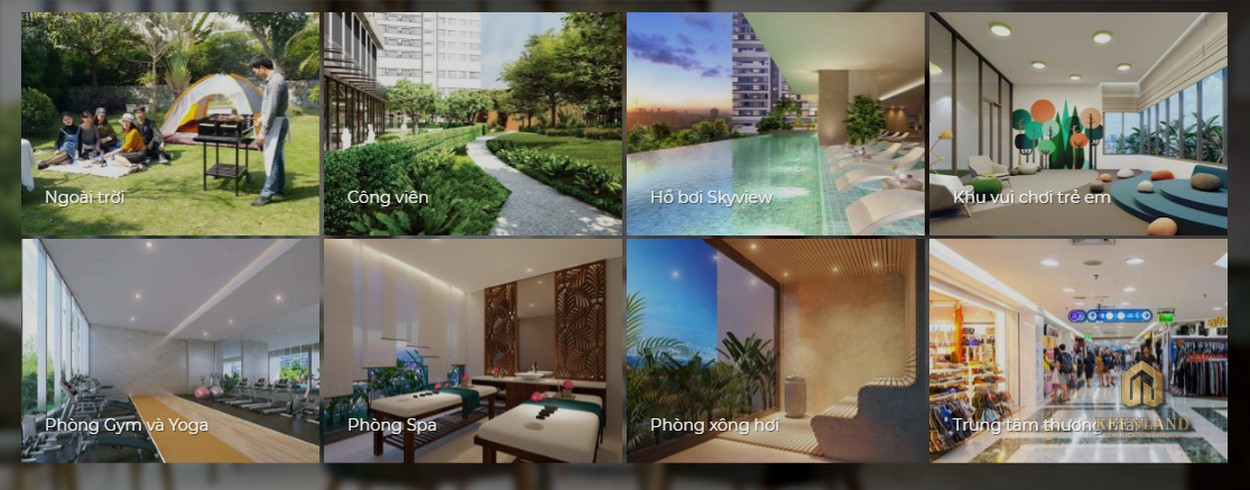 Tiện ích nội khu dự án Harina View