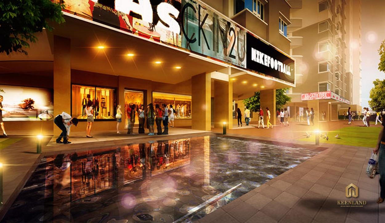 Trung tâm thương mại - Tiện ích nội khu dự án Him Lam Chợ Lớn Quận 6