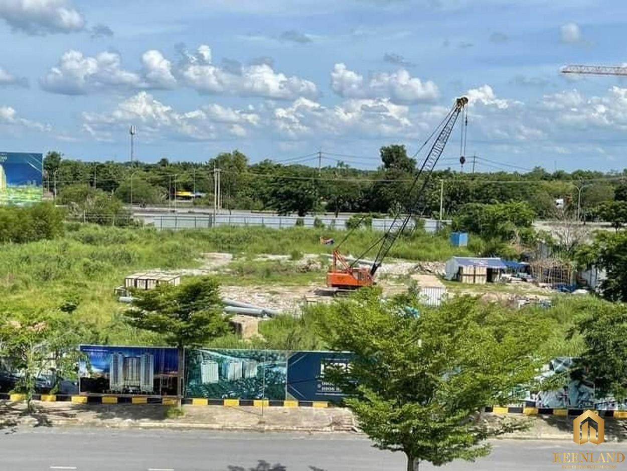 Tiến độ xây dựng dự án Dream Home Riverside T7/2021