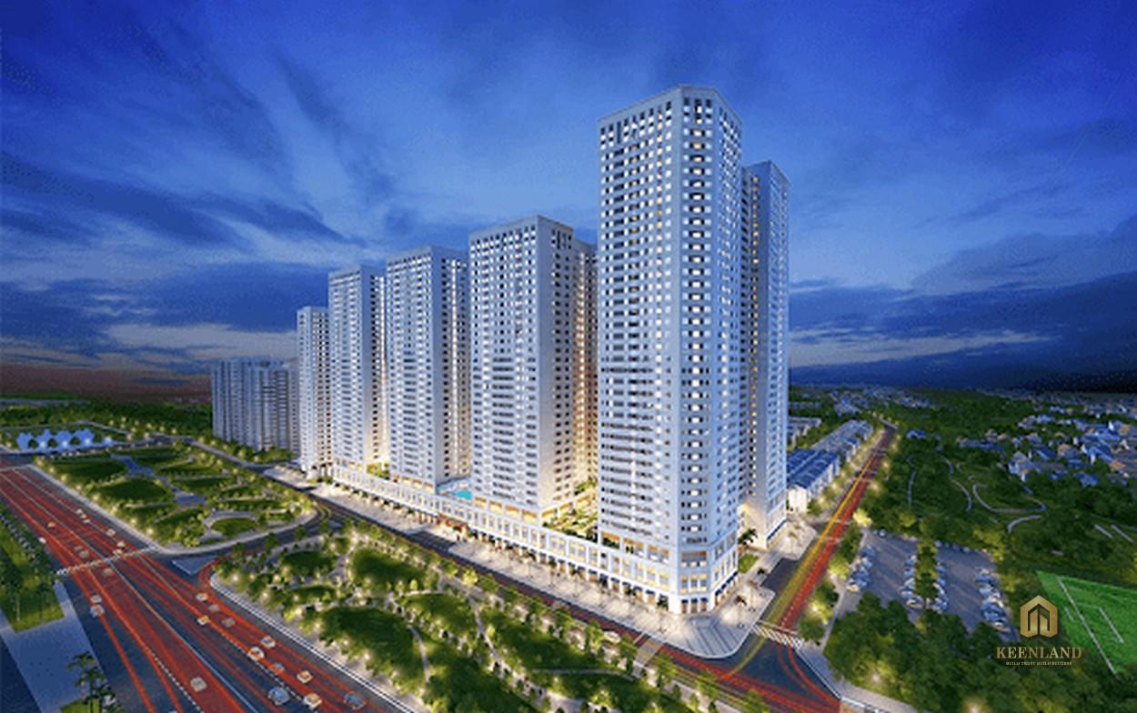 Tổng thể dự án Vinhomes Đồng Khởi