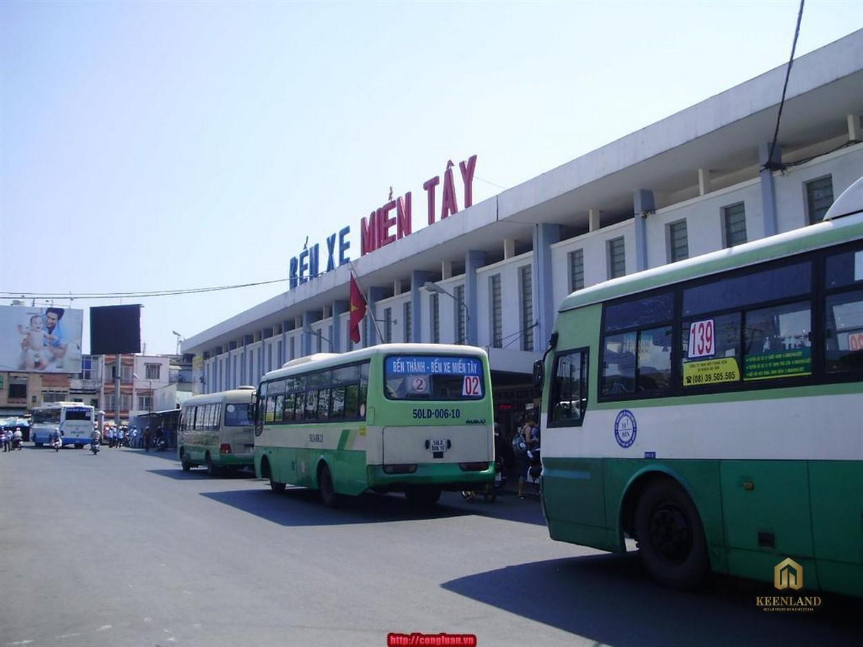 Bến xe miền Tây - Tiện ích ngoại khu Him Lam Chợ Lớn