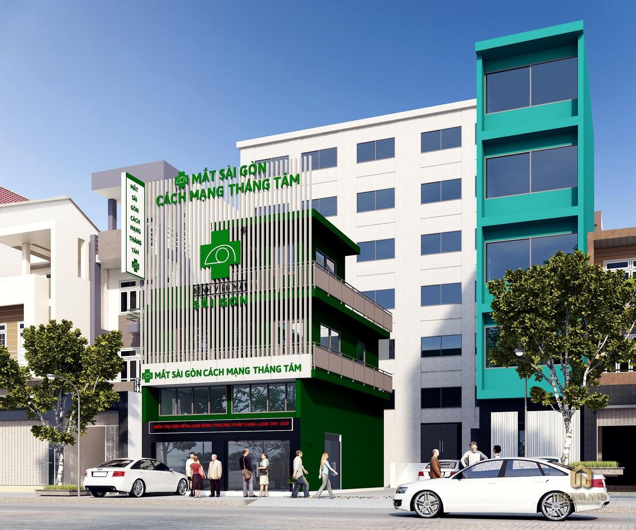 Bệnh viện Mắt Sài Gòn - Tiện ích ngoại khu dự án 363 Hoàng Sa