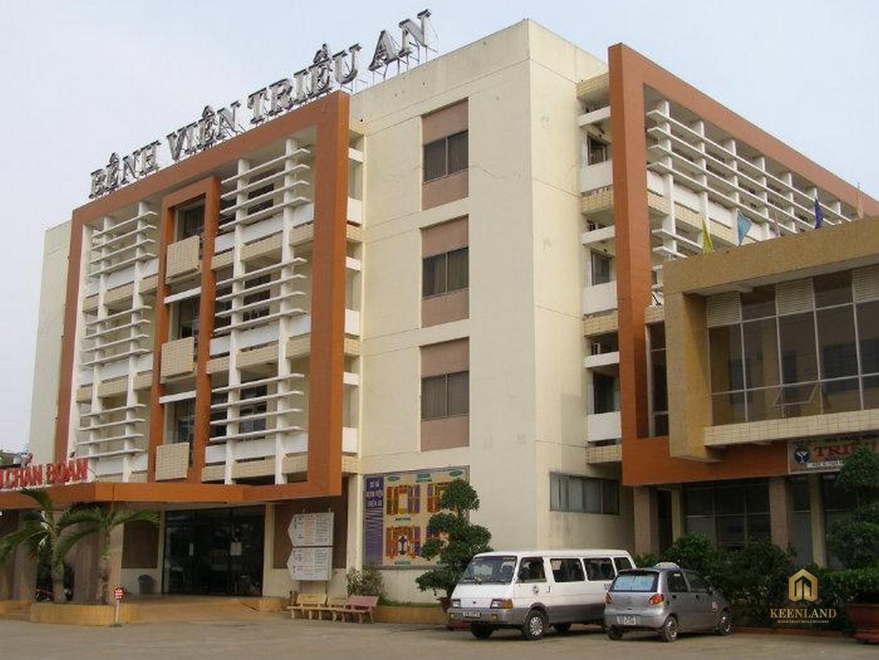 Bệnh viện Triều An - Tiện ích ngoại khu Him Lam Chợ Lớn