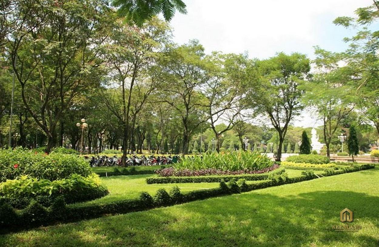 Công viên Bình Phú - Tiện ích ngoại khu Him Lam Chợ Lớn