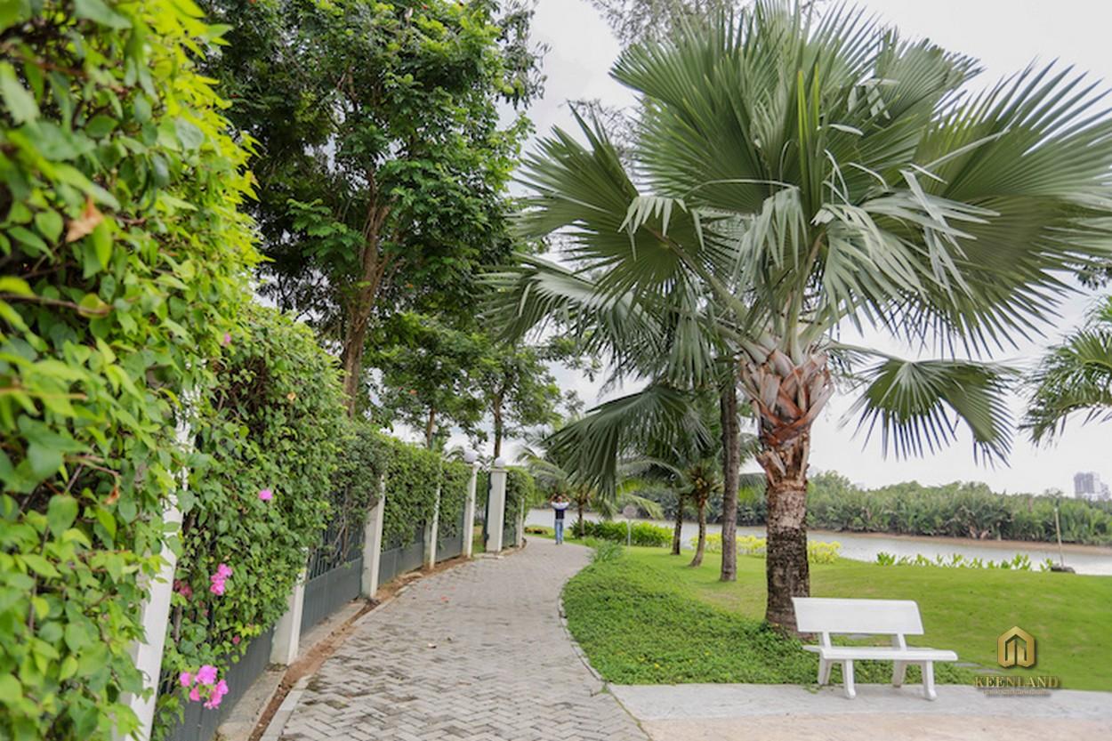 Công viên đô thị - Tiện ích nội khu dự án Riverside Residence Quận 7
