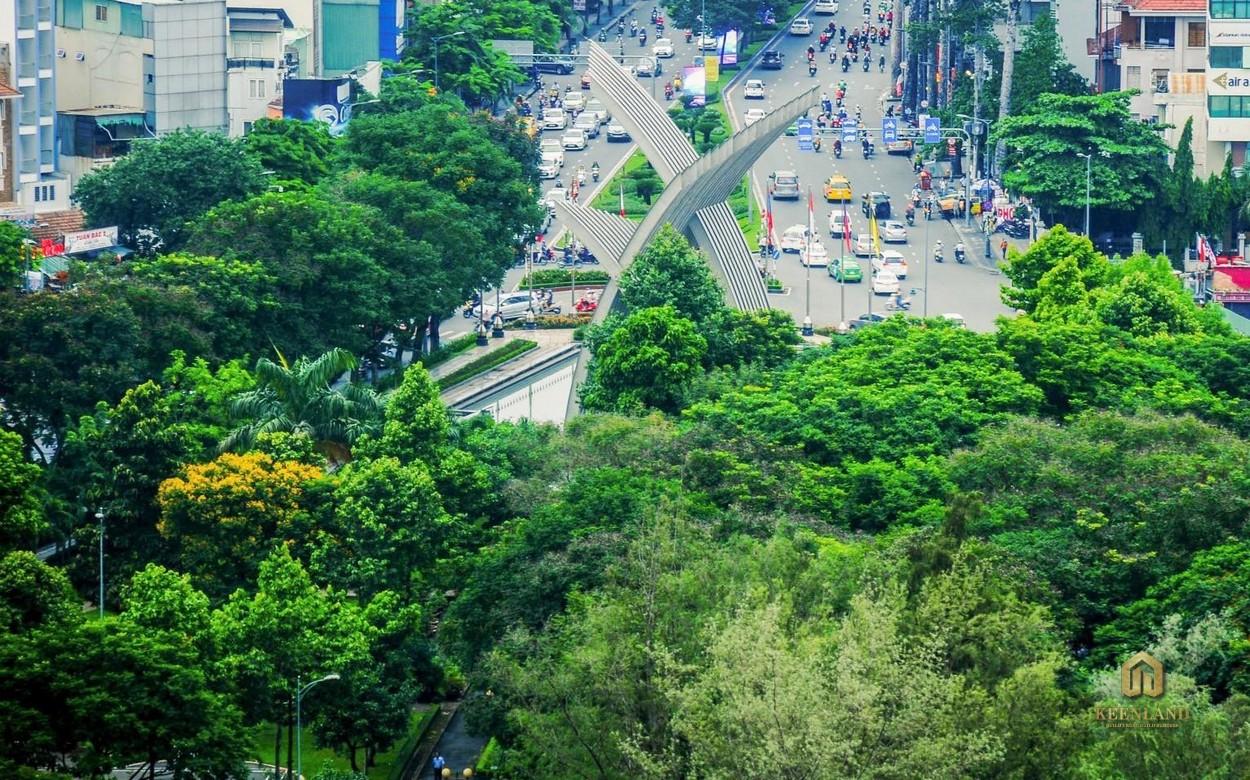 """Công viên Hoàng Văn Thụ là """"lá phổi xanh"""" của khu vực"""