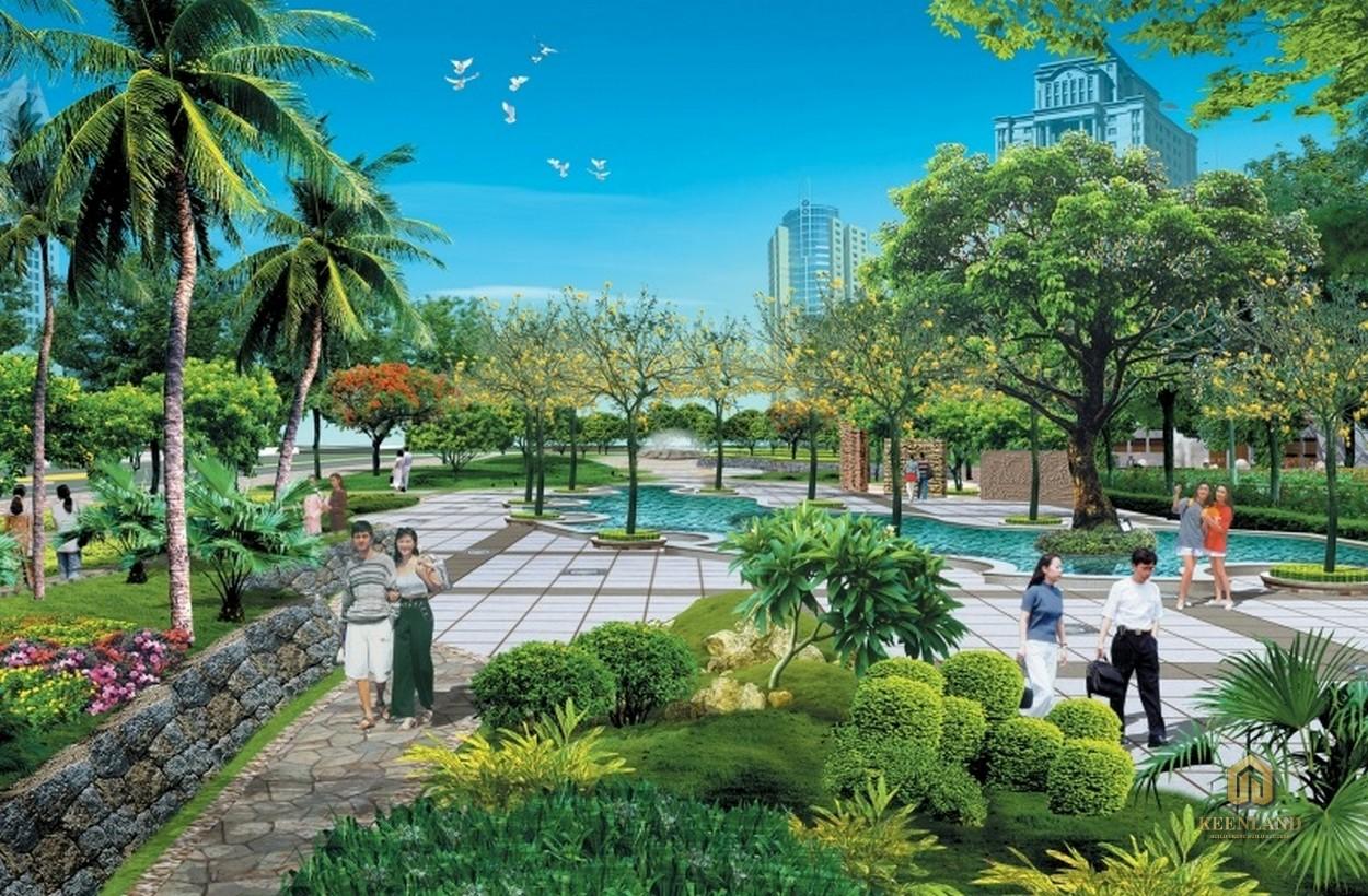 Công viên xanh mướt - Tiện ích nội khu dự án New Pearl Residence Quận 3