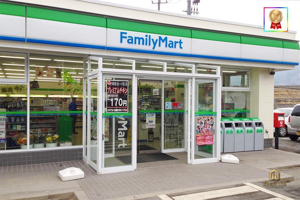 Cửa hàng tiện lợi Family Mart - Tiện ích nội khu dự án An Phú Plaza Quận 3